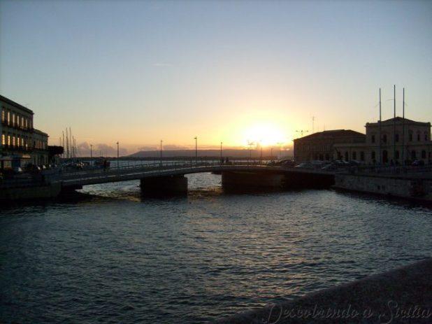 Pôr do sol em Ortigia