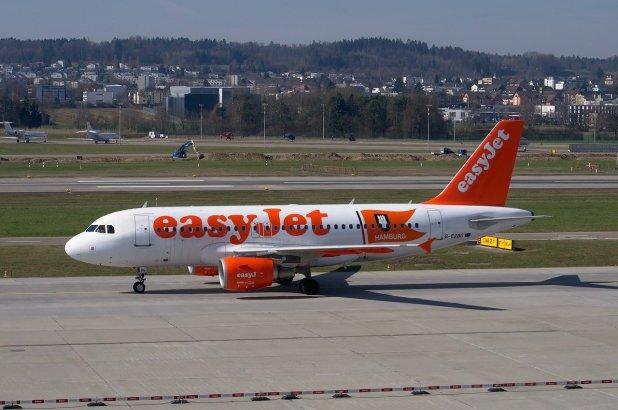 Easyjet - Companhias aéreas que voam para a Sicília