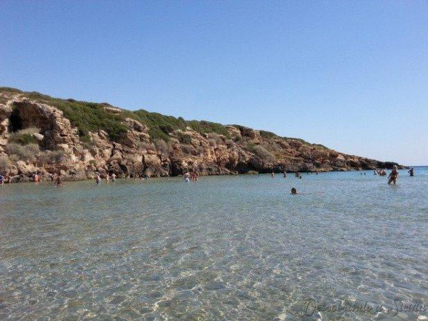 Praias da Sicília: Calamosche