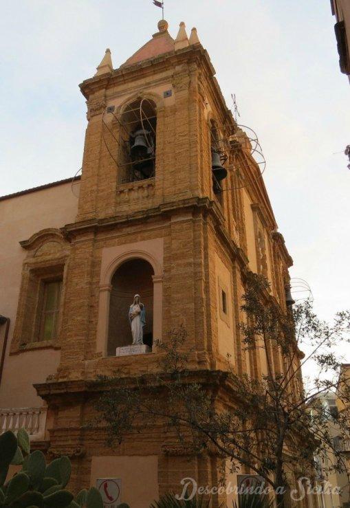 igreja em agrigento