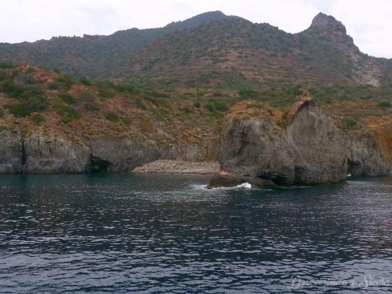 Cala Junco, Panarea, Sicília