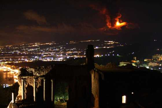 Erupção do Etna