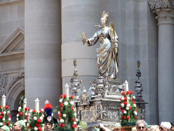 Festa de Santa Luzia em Siracusa