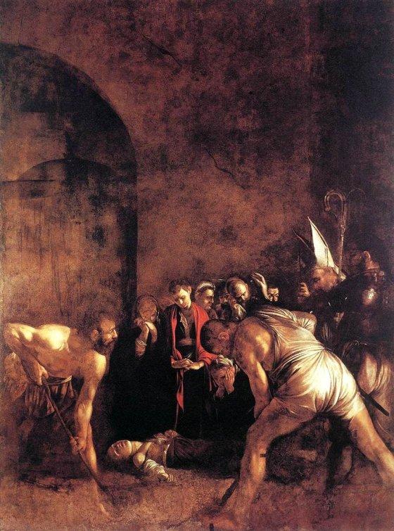 O Sepultamento de Santa Luzia, de Caravaggio