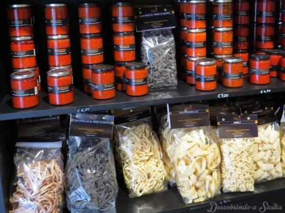 Produtos típicos sicilianos: Trimarchi di Villa Marchese