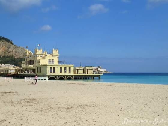 Praias da Sicília: Mondello, Palermo