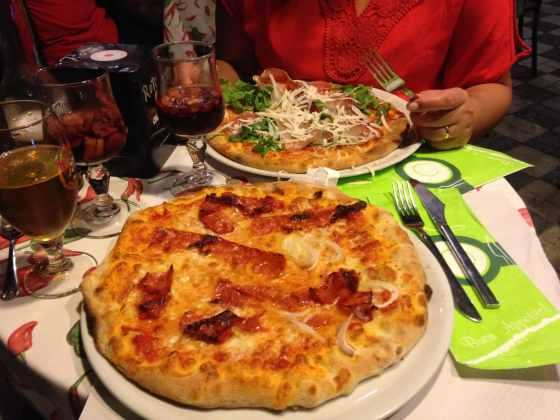 Pizza do Peperoncino e Menta - Foto: Luana Camargo