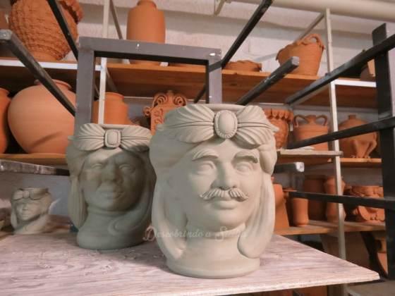 Teste di moro - cabeças de cerâmica sicilianas