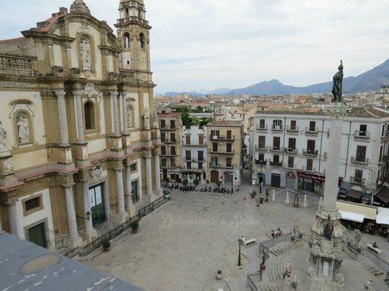 Palermo do alto - La Rinascente