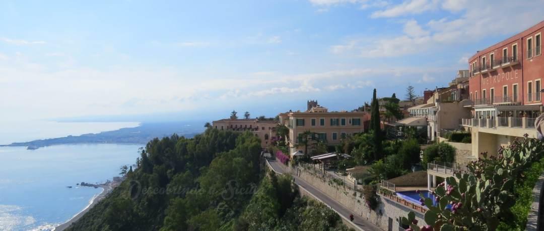 Taormina no inverno
