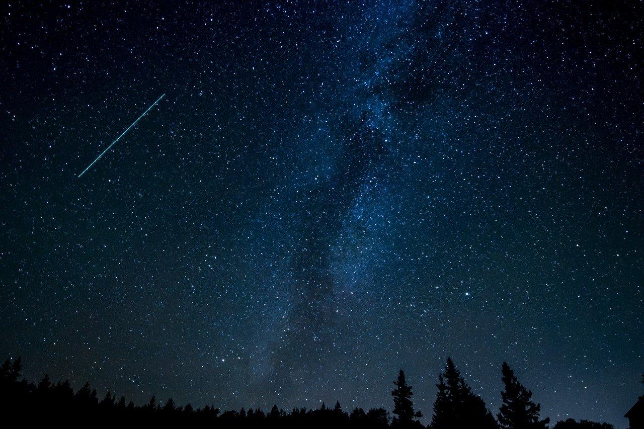 Estrelas cadentes na Noite de San Lorenzo