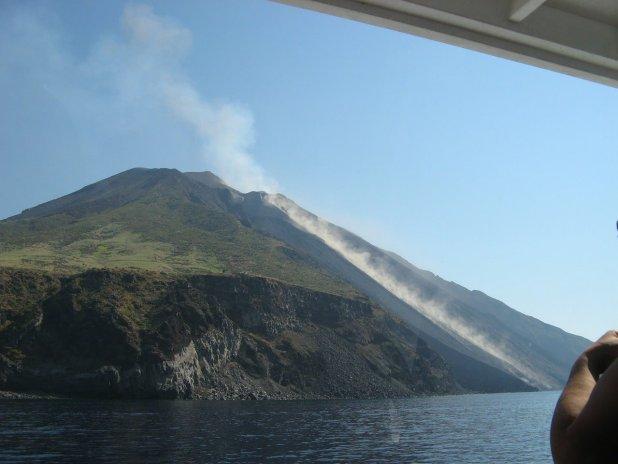 Vulcão Stromboli na Sicília