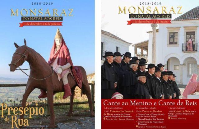 Presépio de Rua, Monsaraz