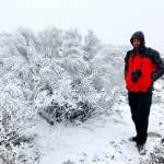Gelo e neve no Gerês