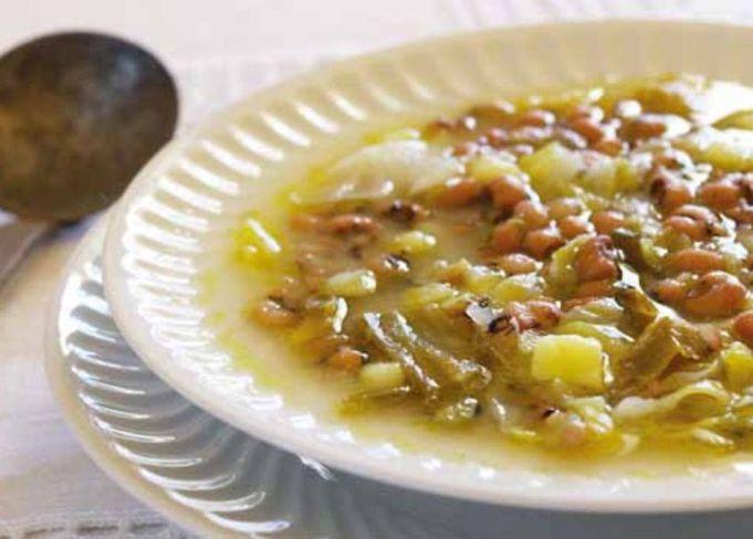 Sopa de feijão-frade