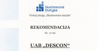 VsI Skaitmenine statyba rekomendacija DESCON BIM technologijos