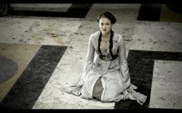 Sansa Stark interpretada por Sophie Turner