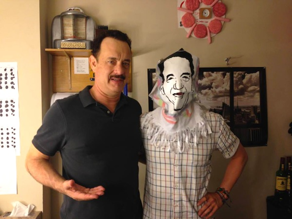 Hanksy con Tom Hanks