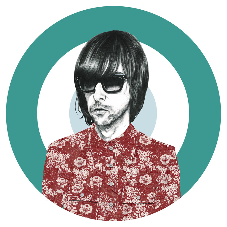 Veriette Illustration - Bobby Gillespie