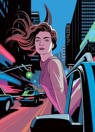 R Kikuo Johnson - Lorde - New Yorker