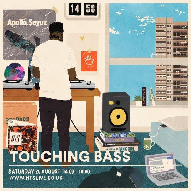 Joe Prytherch - Touching bass - AUG 2016