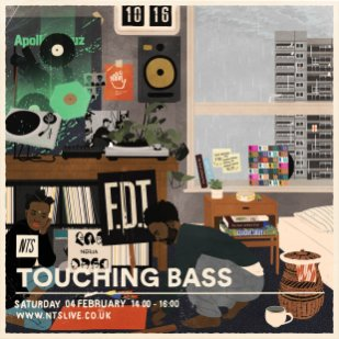 Joe Prytherch - Touching bass - FEB 2017