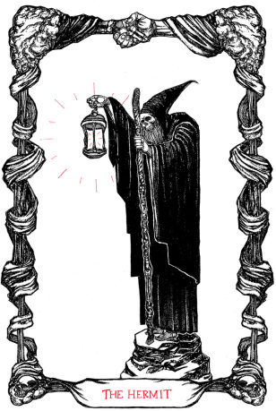 Micah Ulrich -The Tarot of the Hermit