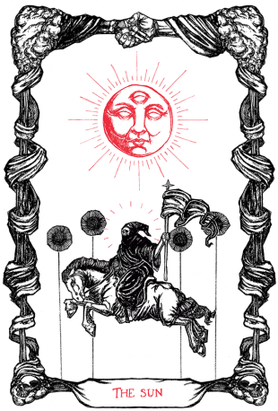 Micah Ulrich - The Tarot of the sun