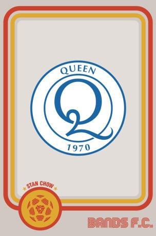 Bands FC - Queen
