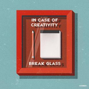 Iconeo - In case of creativity break glass