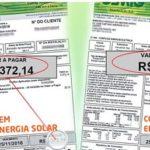 Como fica a conta de luz após a instalação do sistema fotovoltaico