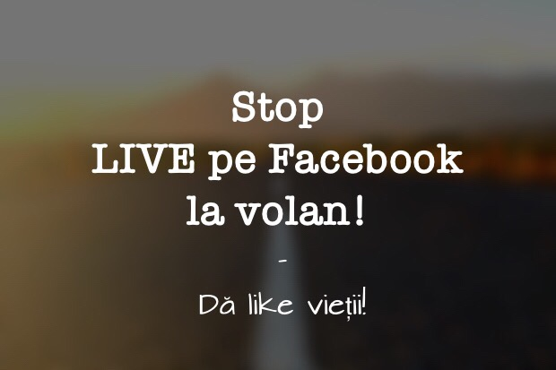 Stop Live pe Facebook