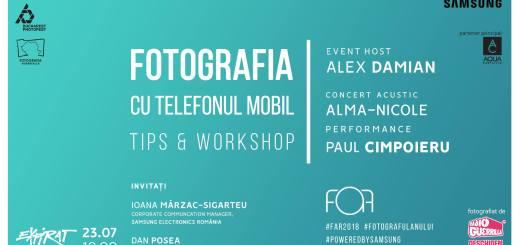 Fotografia cu telefonul mobil - EVENT