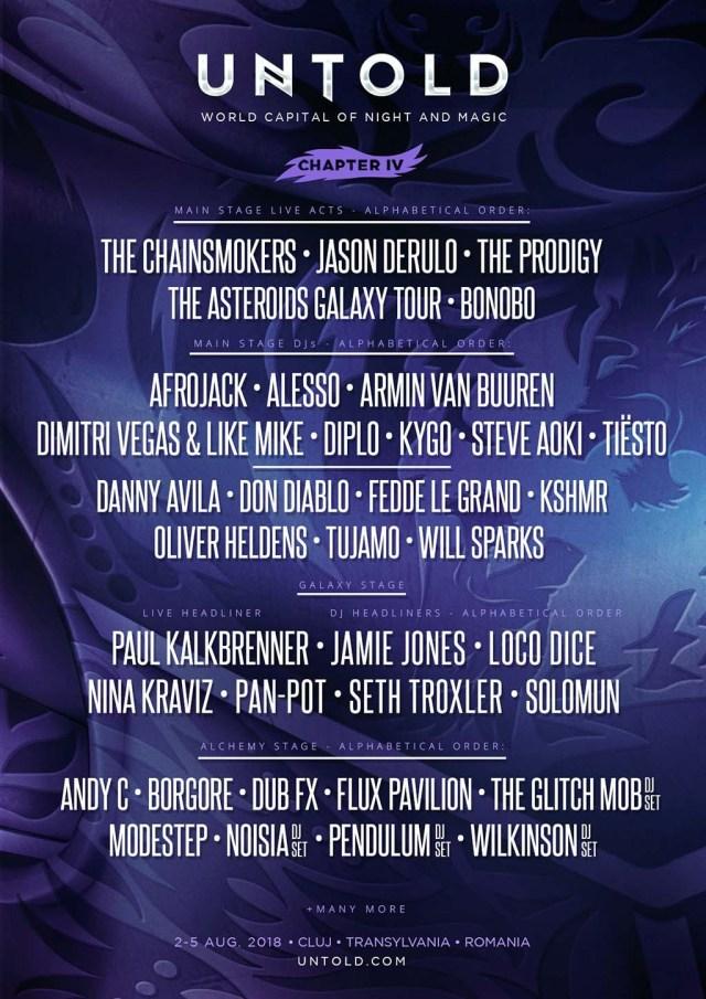 Program Untold Festival