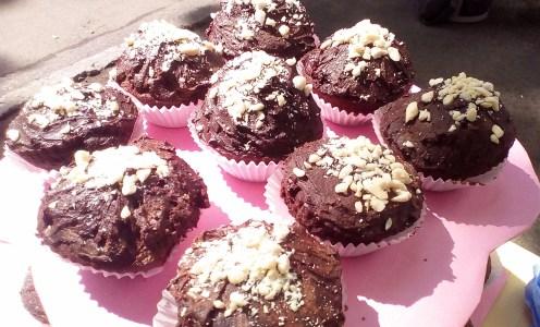 Muffins de ciocolată sunt gata