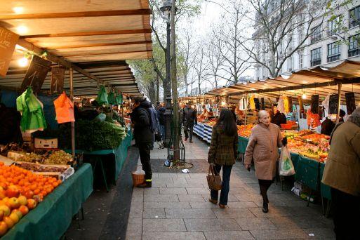 mercado de rua paris marche