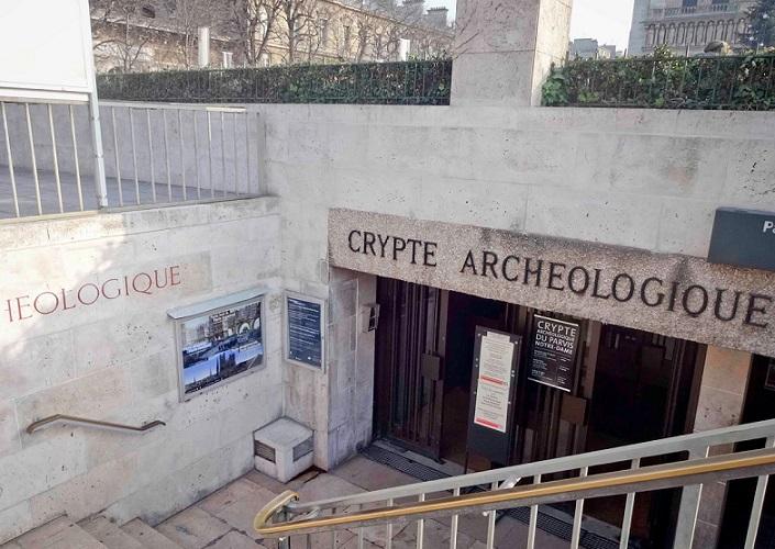 entrada da cripta - do RS para o mundo