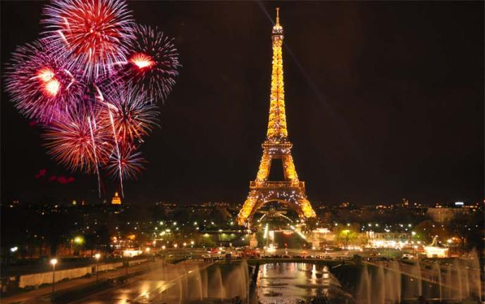 Ano novo na França - Paris - Pinterest