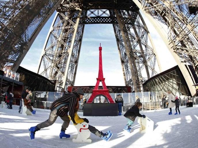 O que fazer nas férias de janeiro com as crianças pela França, Torre Eiffel