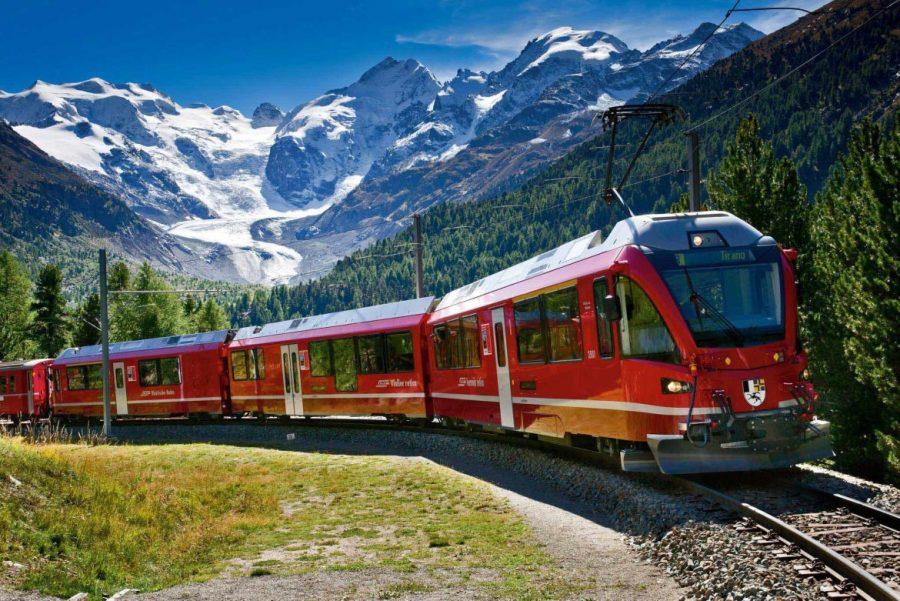 Viajar de trem pela Europa, Bernina Express