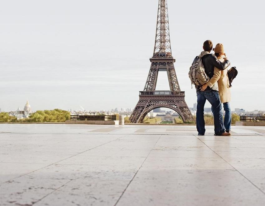 Viagem romântica pela França, Paris