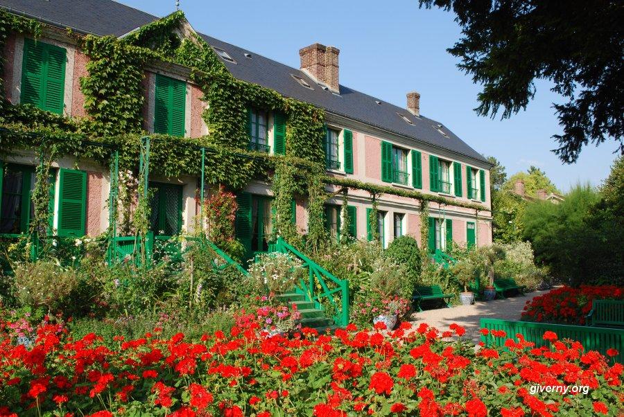 Giverny, a casa e os jardins de Monet