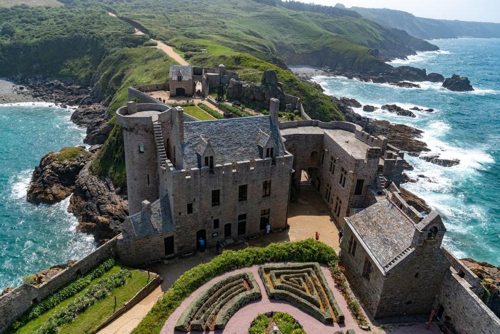 Castelo em Bretanha