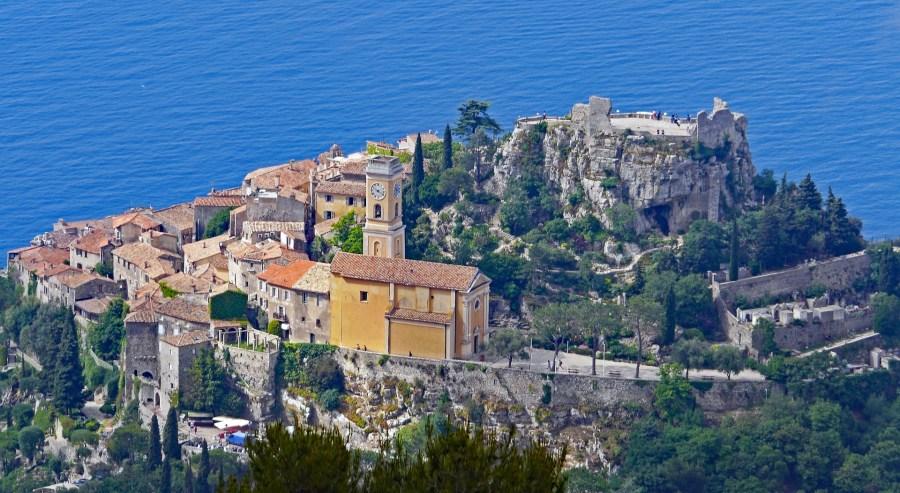 Èze é uma das vilas medievais ao redor de Nice das mais bonitas que existem