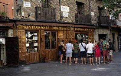 O restaurante mais antigo do mundo «Sobrinos de Botín»