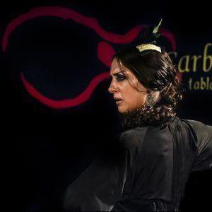 bailaora flamenca en las carboneras