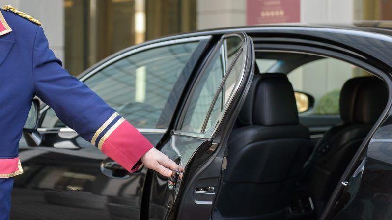 carro privado de luxo com motorista