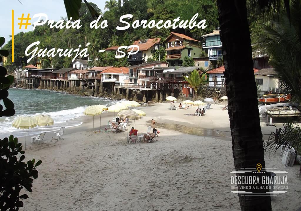 Praia do Sorocotuba Guarujá SP