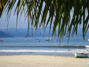 Praia de Pereque no Guaruja - Guaruja Praias SP