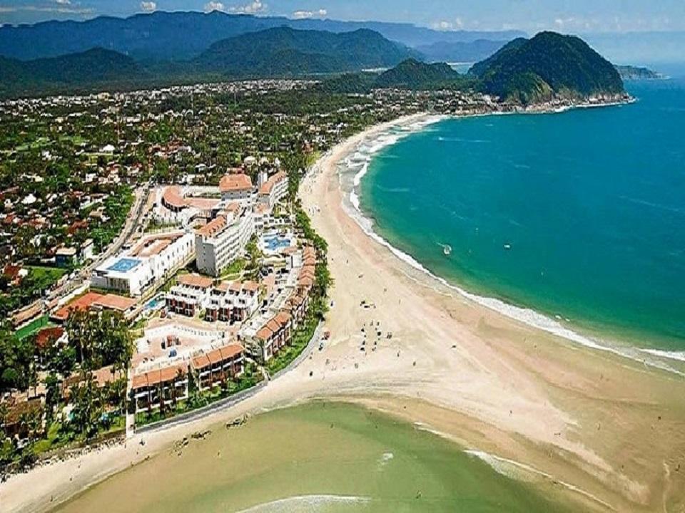 Praia de Pernambuco e Mar Casado - Praias do Guaruja SP